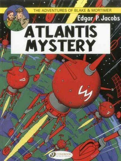 Adventures Blake & Mortimer 12: Atlantis Mystery, Paperback