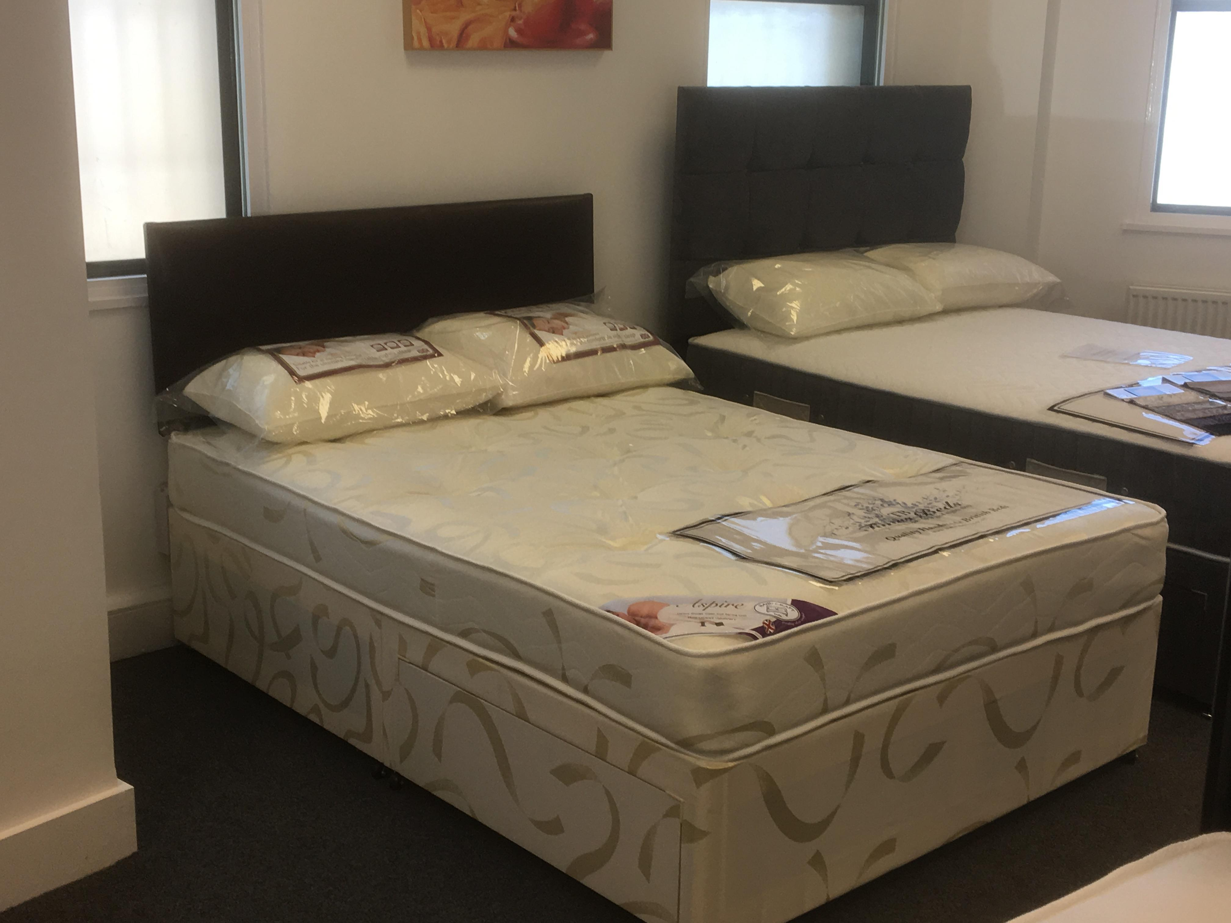 Brand new luxury orthopaedic complete bed.