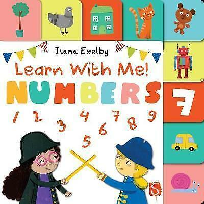 Learn With Me! Numbers by Ilana Exelby (Board book, )