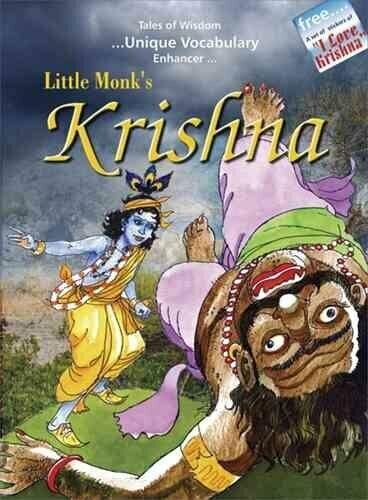 Little Monk's Krishna by Pooja Pandey