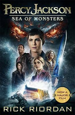 Percy Jackson and the Sea of Monsters (Book 2), Paperback by