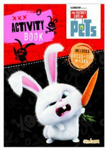 Secret Life of Pets: Activity Book