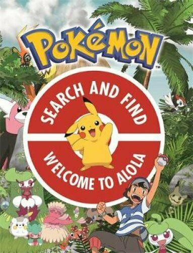 The Official Pokemon Search and Find: Welcome to Alola by