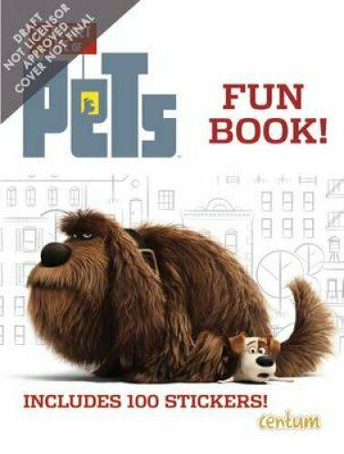 The Secret Life of Pets: Fun Book!