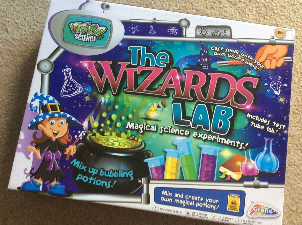 Grafix Weird Science - The Wizards Lab - Magical Experiments