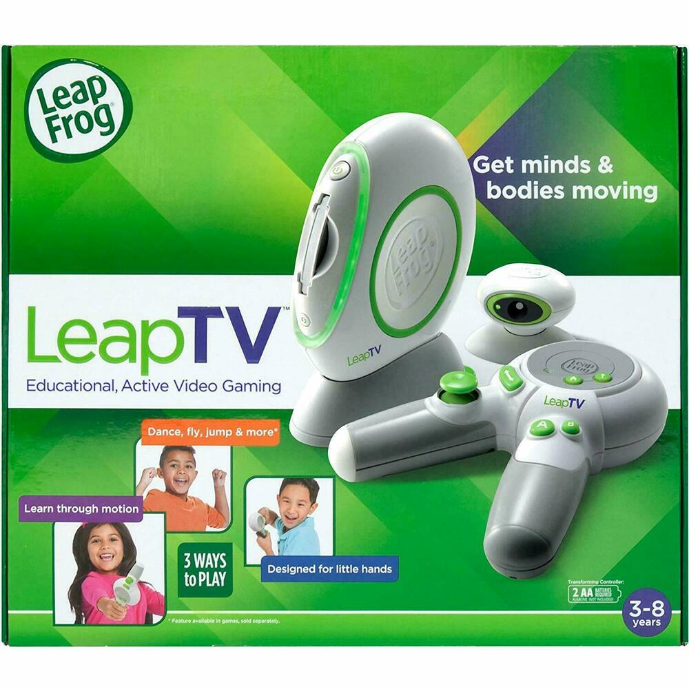 LeapFrog LeapTV Console Educational Gaming System + 1 Free