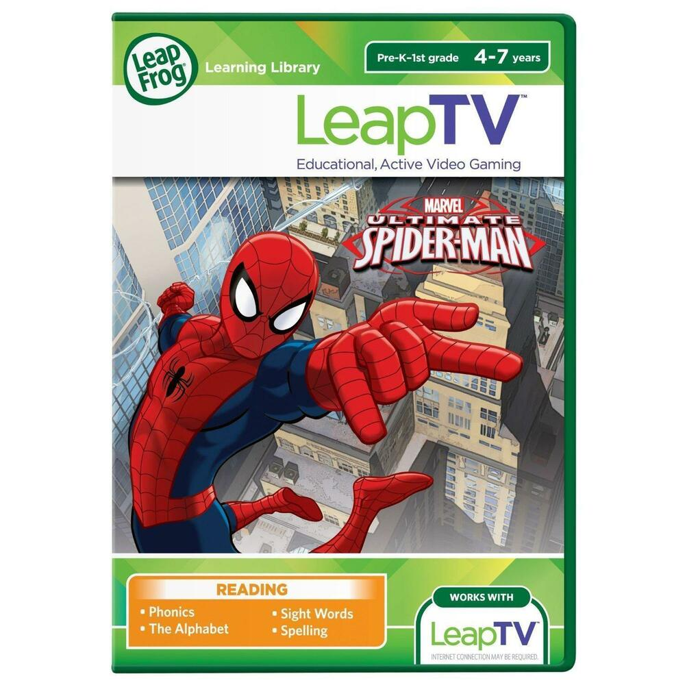 LeapFrog LeapTV Spiderman Childrens/Kids Educational Video