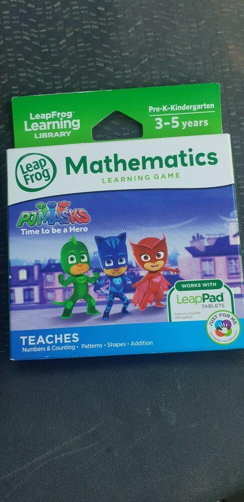 LeapFrog Learning Game, PJ Masks mathematics 3-5 years free