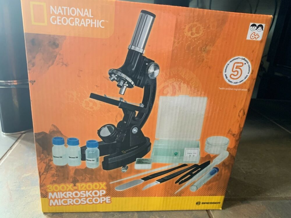Learning Resources GeoSafari Micropro 48 Piece Microscope