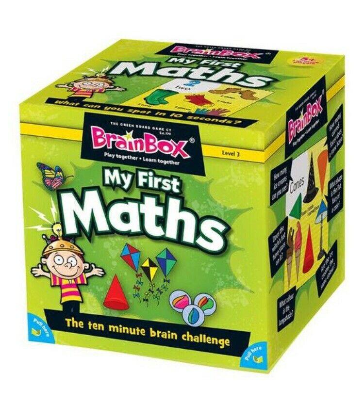 My First MATHS BrainBox Memory Game Children's Fun Number