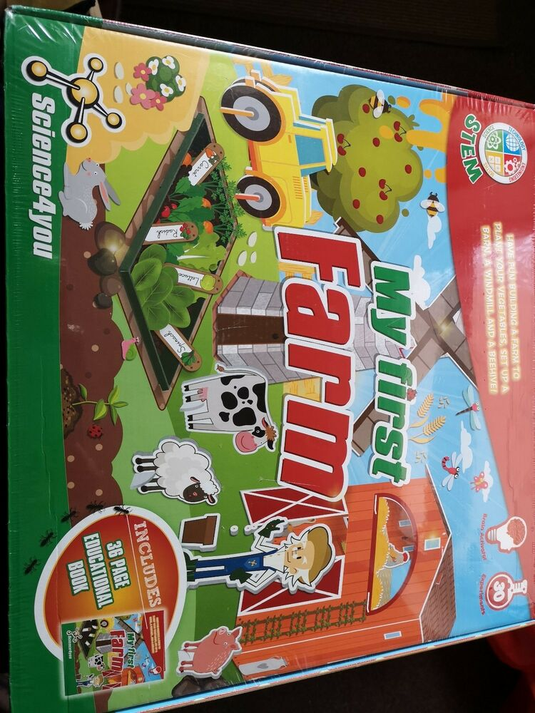 Science4You My First Farm Educational Science Toy BRAND NEW