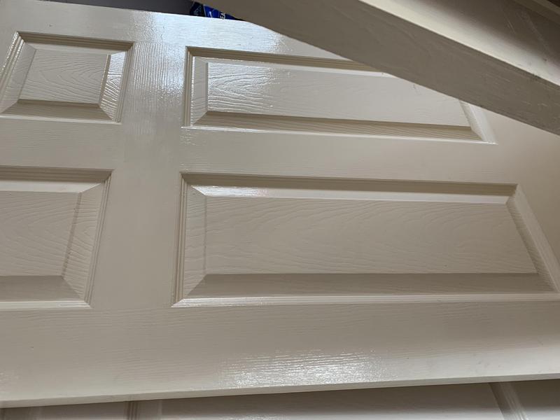 Two white interior doors