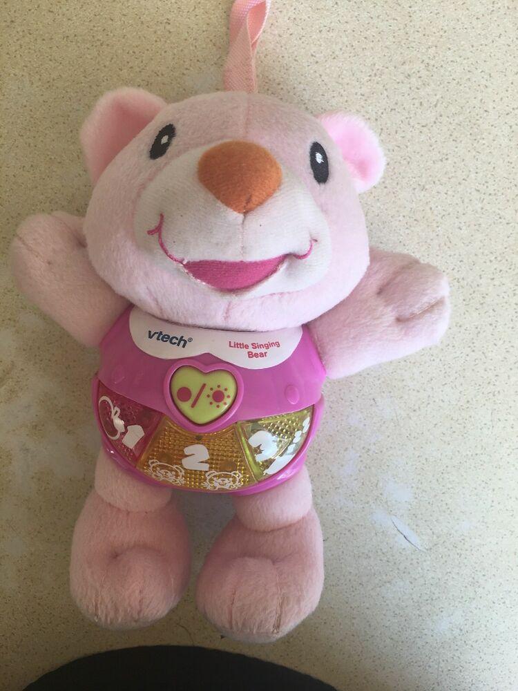 Vtech Little Singing Bear Pink (Reduced)