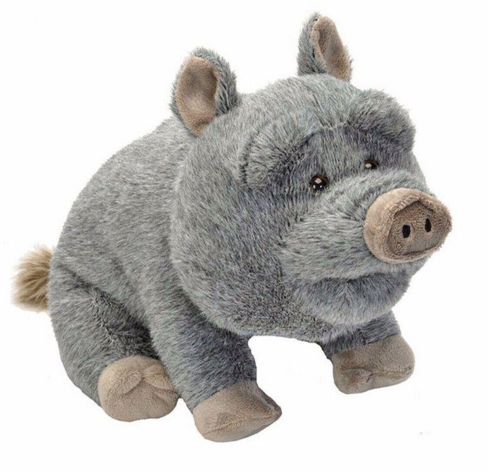 CUDDLEKINS POT-BELLLIED PIG PLUSH SOFT TOY 30CM STUFFED