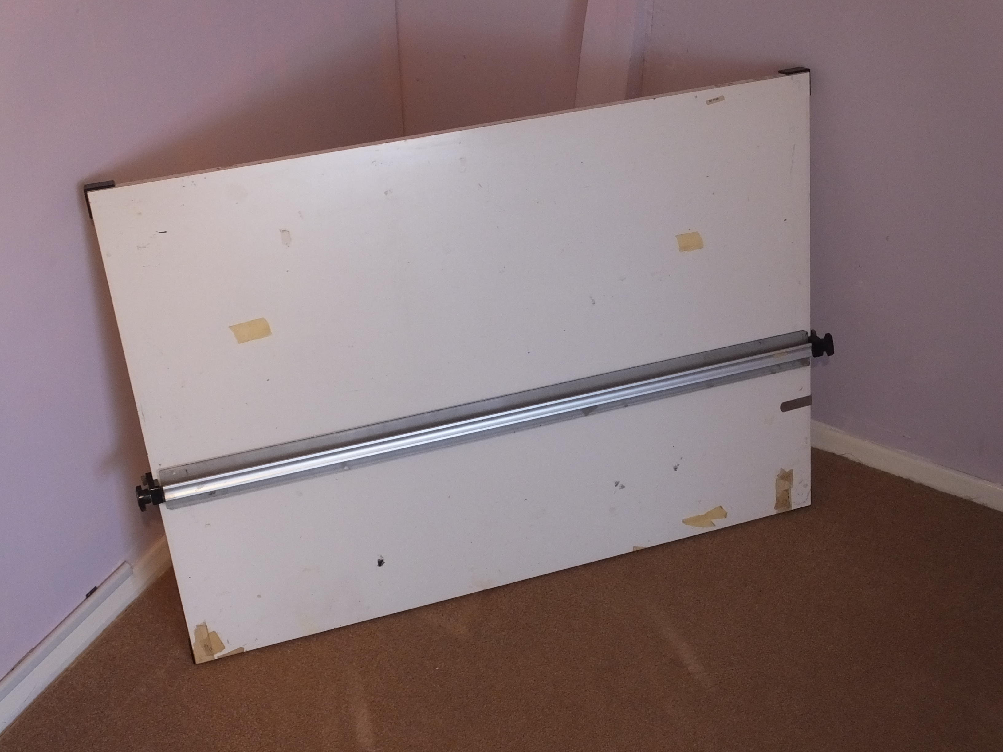 DRAUGHTSMANS DRAWING BOARD - COLLECT FROM WORTHING