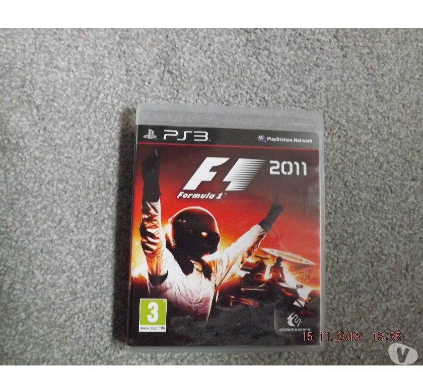 F1 Racing Game PS3