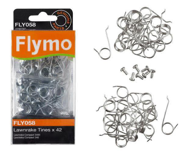 Flymo FLY Replacement Metal Tines to suit Lawn rake