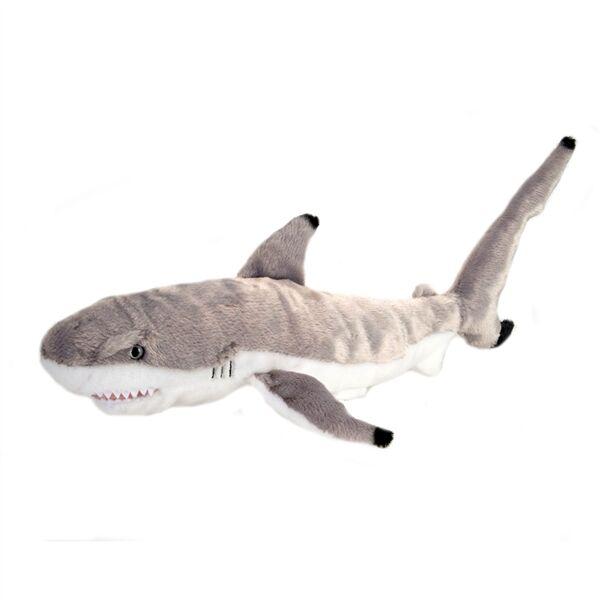 "NEW PLUSH SOFT TOY  Cuddlekins Blacktip Reef Shark 15"""