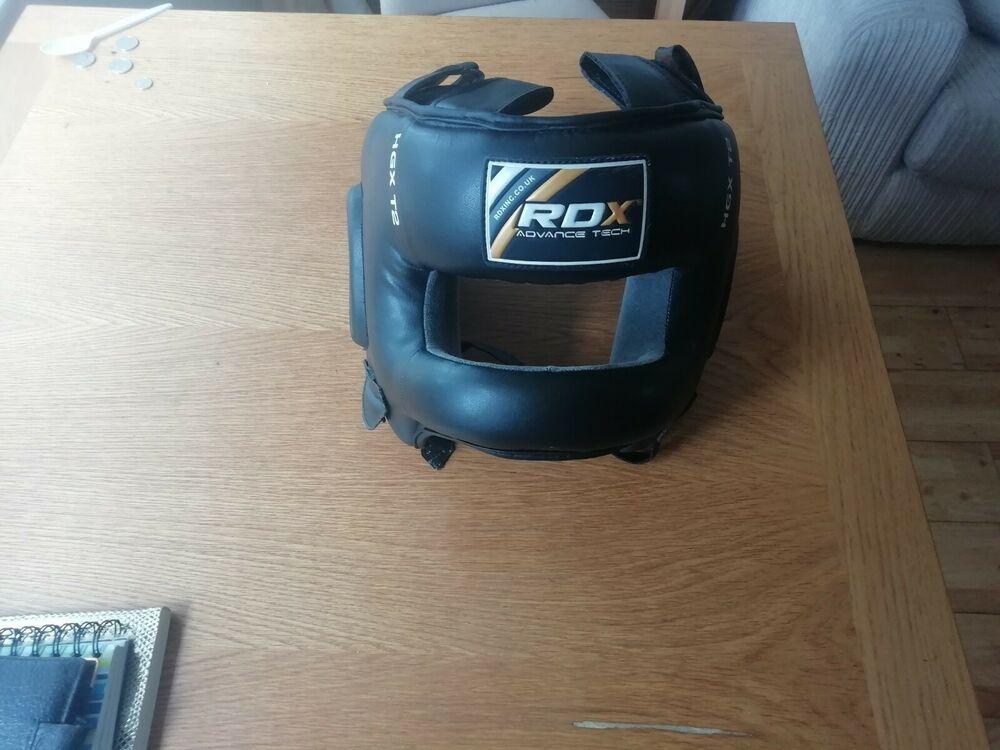 RDX Head Guard Helmet Face Protector Kick Boxing MMA Martial