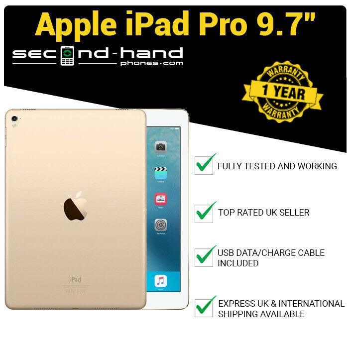 Apple iPad Pro 9.7 WiFi 128GB Gold - 1 Year Warranty