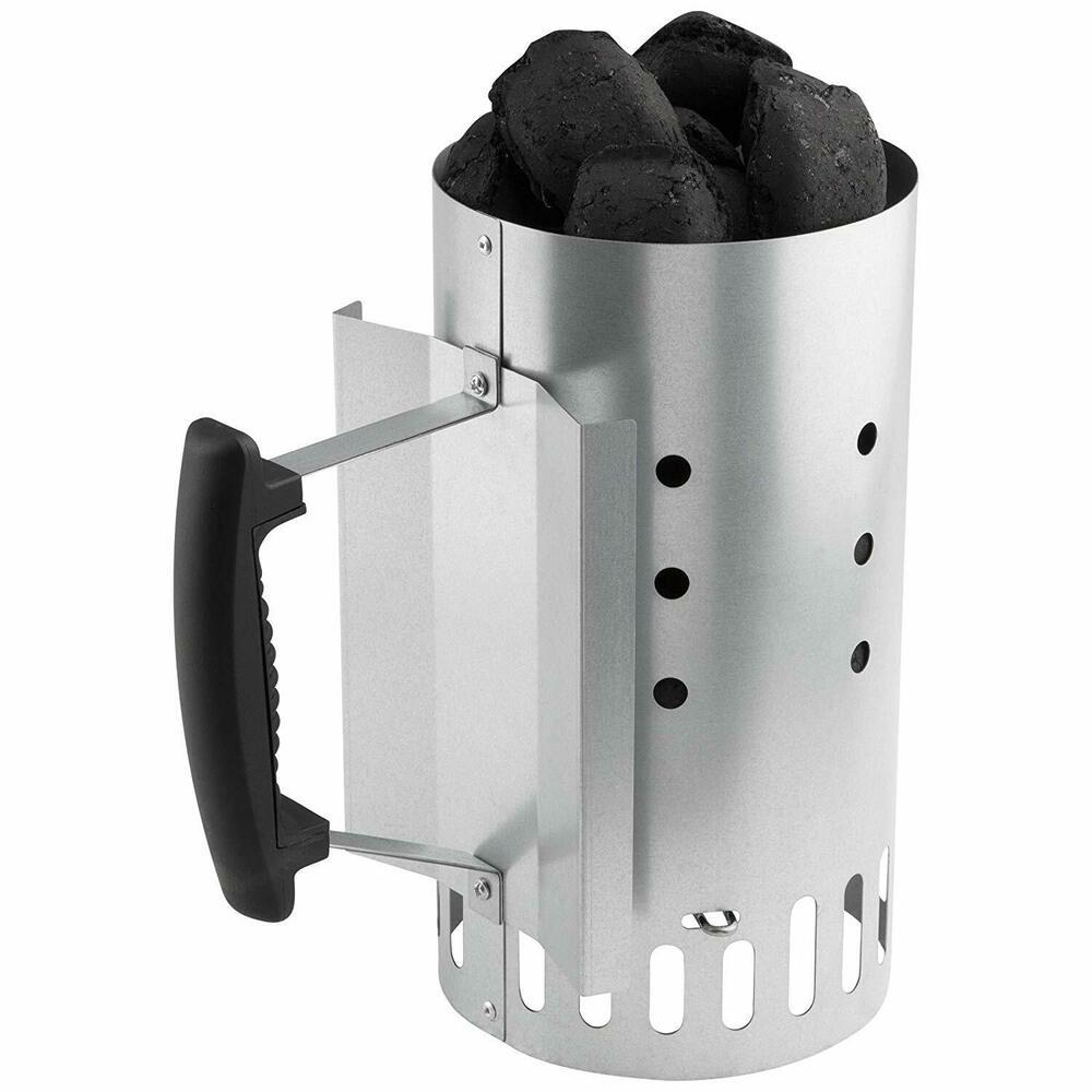 Bruzzzler Charcoal Starter Safety Handle Quick Start