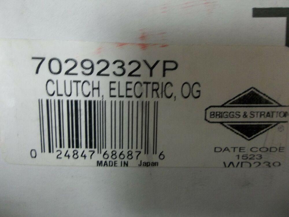 Genuine Snapper PTO clutch yp new# sm new OEM
