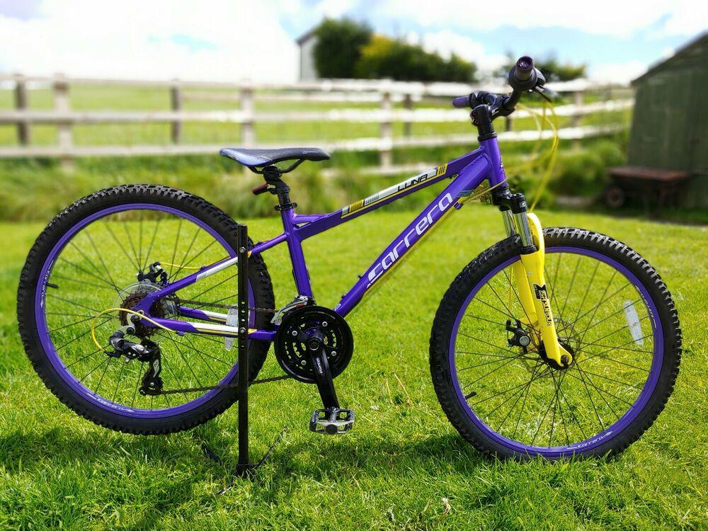 "Girls Junior Carrera Luna Mountain Bike24"" wheels SMALL"