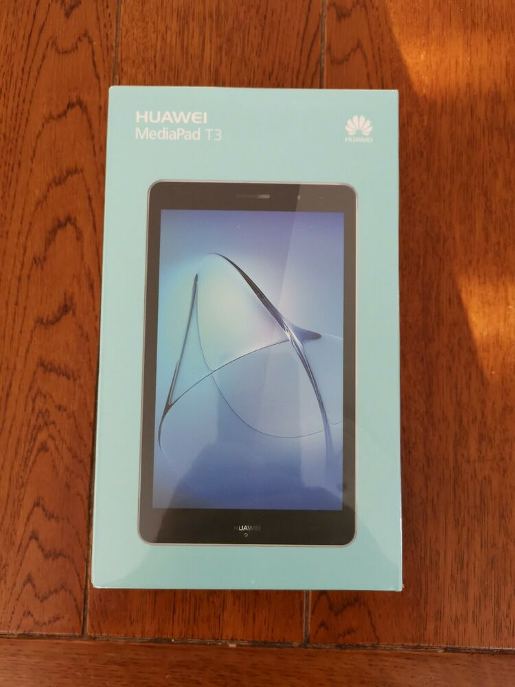 "Huawei Mediapad T3 16GB, Wi-Fi, 8"" - Space Grey - Brand New"