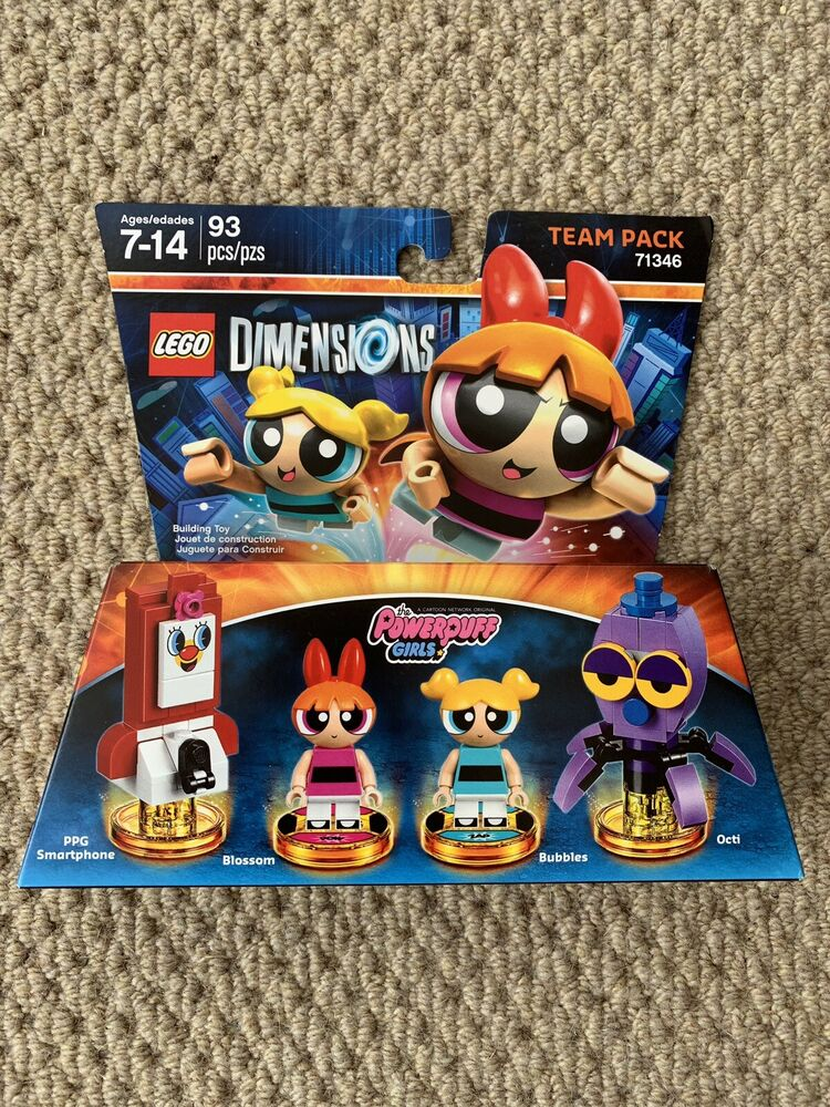 Lego Dimensions Powerpuff Girls Team Pack •  • NEW
