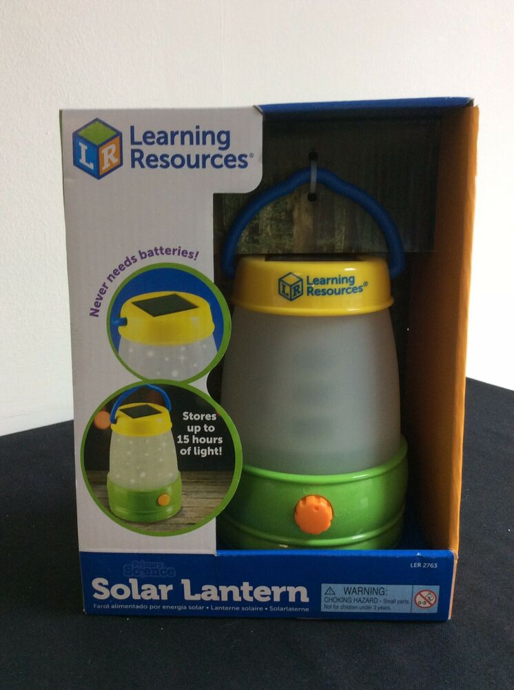 NEW Learning Resources Solar Lantern Primary Science