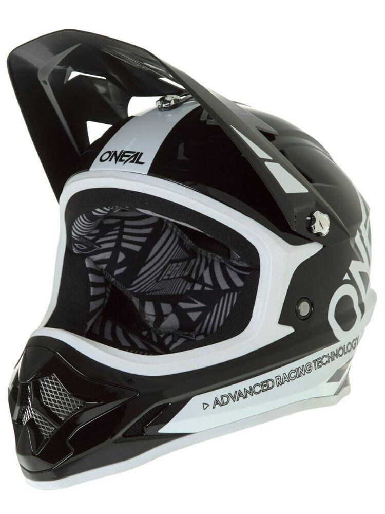 Oneal Black-White  Backflip RL2 Bungarra MTB Full Face