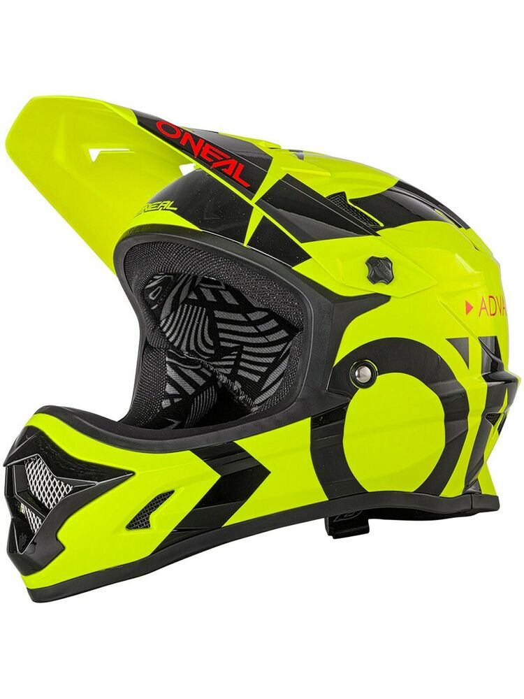 Oneal Neon Yellow-Black  Backflip RL2 Slick MTB Full