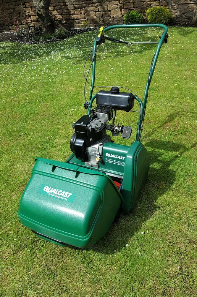 Qualcast Classic 35s Bosch Petrol Lawnmower (Similar to