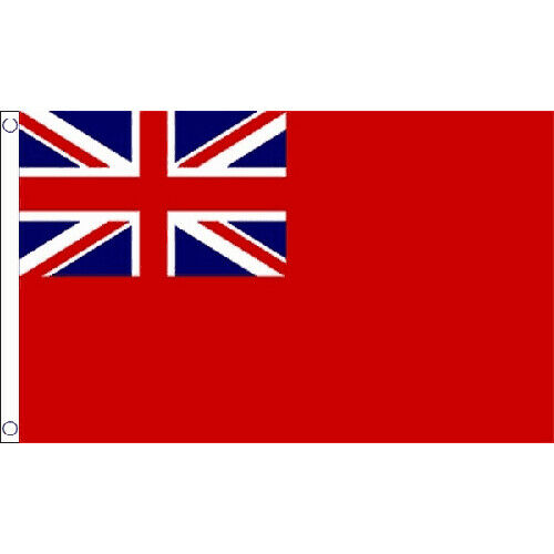 Red Ensign Small Flag 3Ft X 2Ft British Merchant Navy Naval
