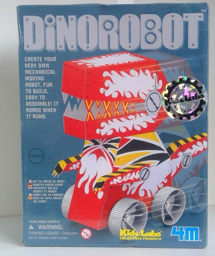Science Museum Dinorobot Robot Kit Make Your Own Monster