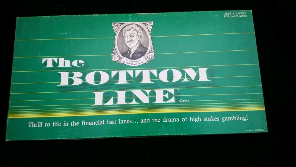 The Bottom Line Board Game  from A T Pepperell