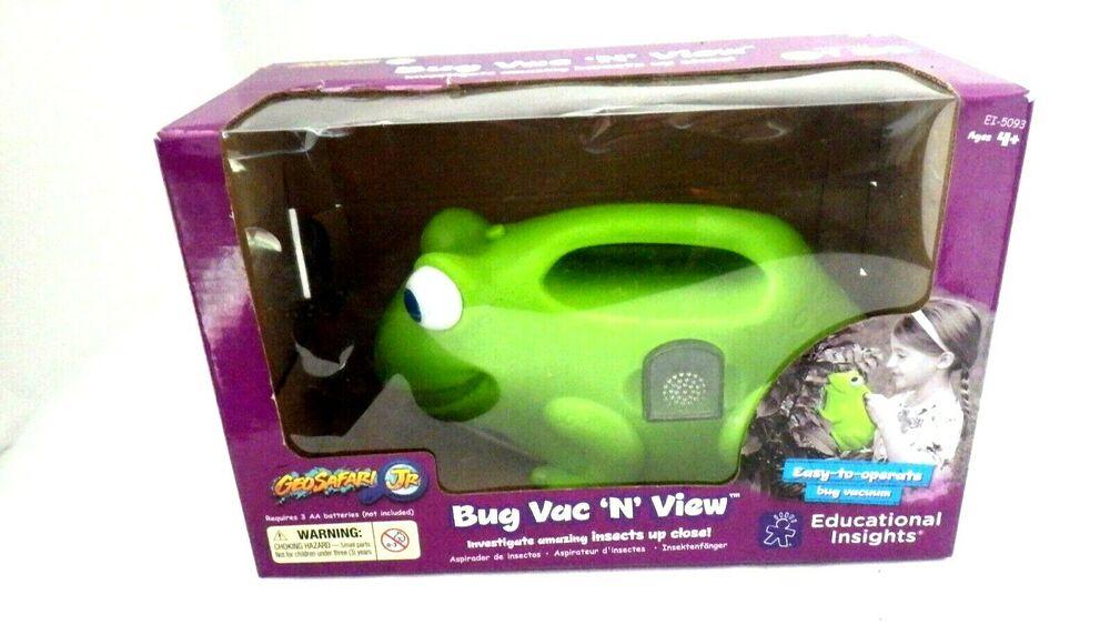 bug vac n view Learning Resources GeoSafari Jr. Bug Vac 'n'