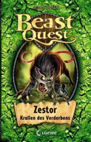 Beast Quest 32. Zestor, Krallen des Verderbens by Adam Blade