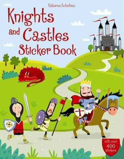 Knights and Castles Sticker Book, Paperback by Pratt,