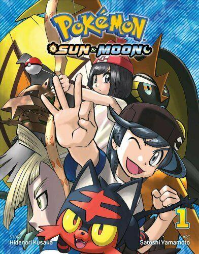 Pokemon: Sun & Moon, Vol. 1 by Hidenori Kusaka