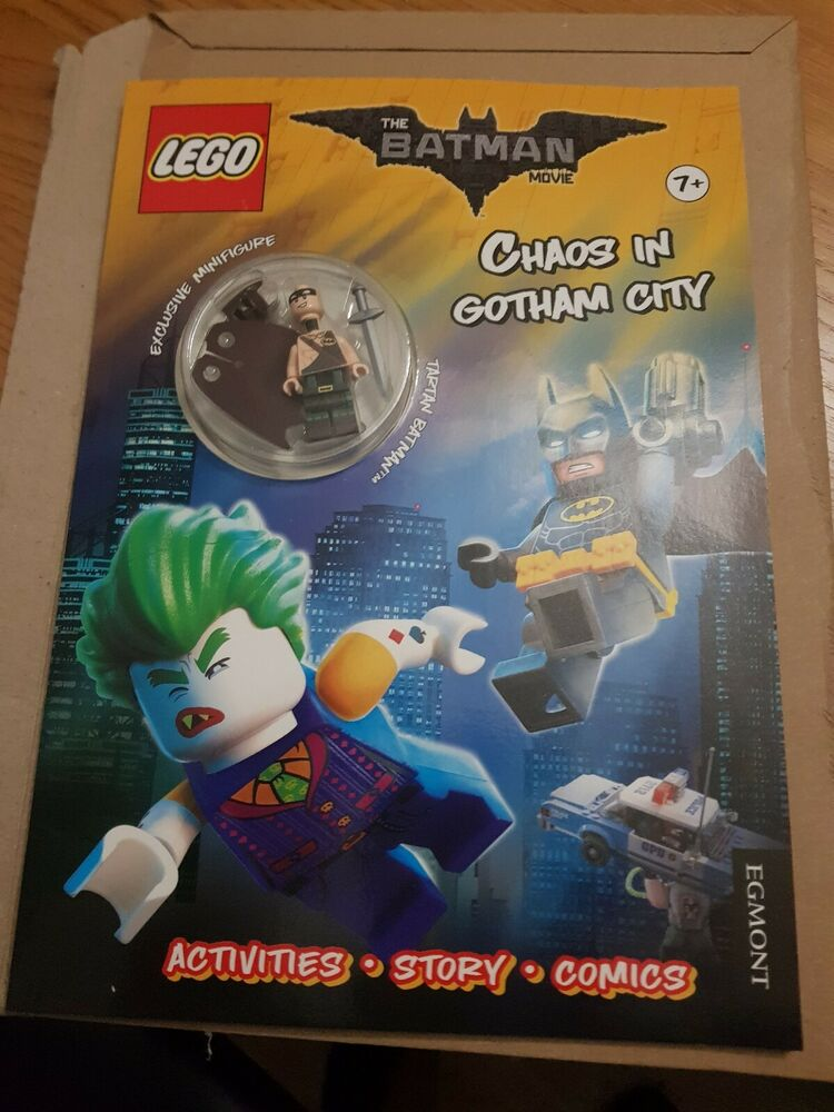 The LEGO Batman Movie: Chaos in Gotham City (Activity Book
