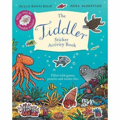 Tiddler Sticker Activity Book by Julia Donaldson (Paperback,