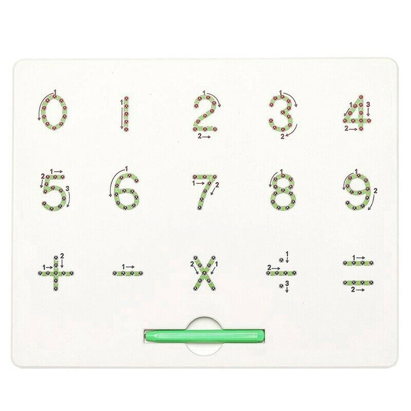0 To 9 Number Magnet Board For Kids Educational Toy Magnetic