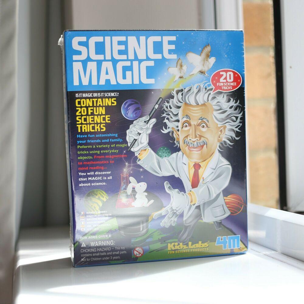 4M Kidz Labs Science Magic (Contains 20 fun educational