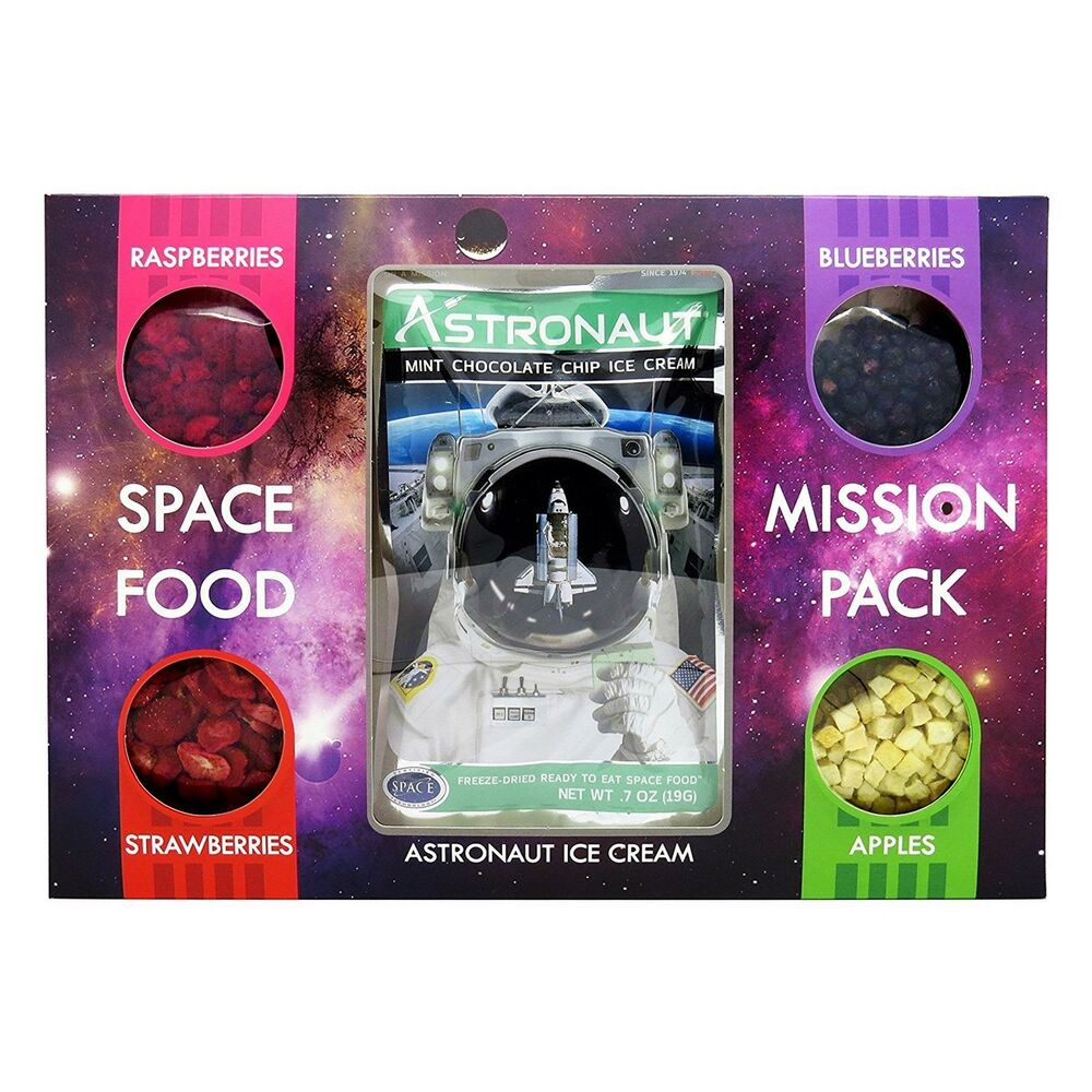 Astronaut Food Mission Pack Mint Choc Chip Ice Cream