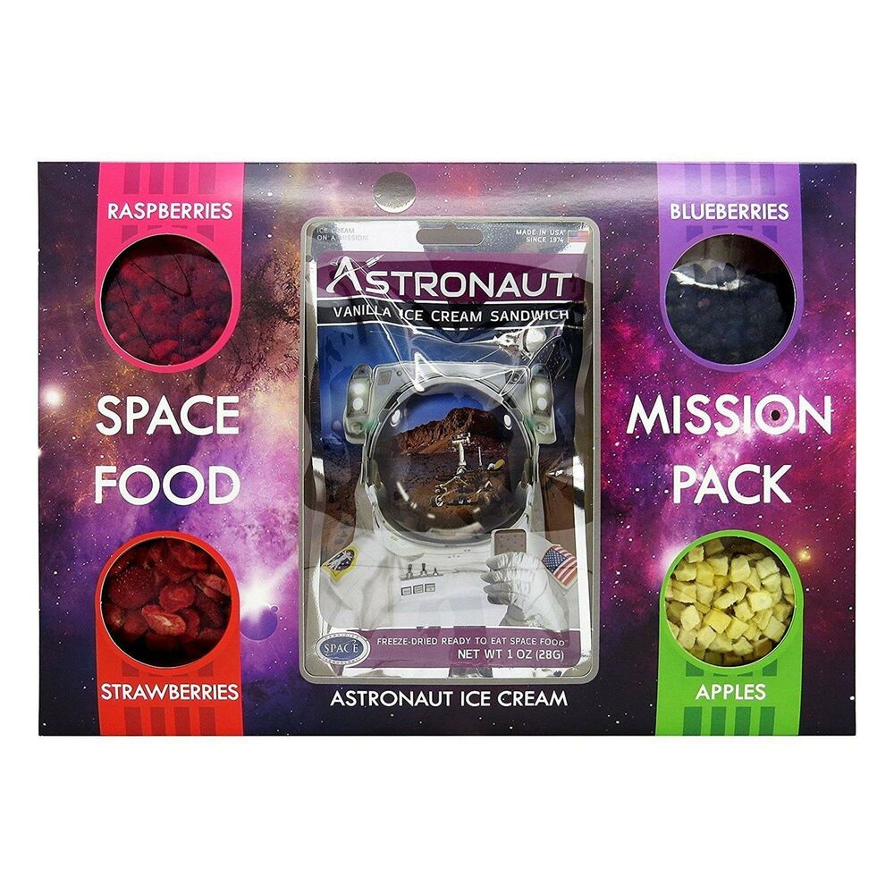 Astronaut Space Food Mission Pack Vanilla Ice Cream Sandwich