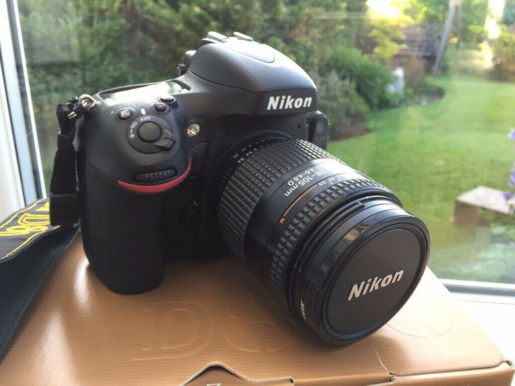 Nikon D DMP Digital SLR Camera + Nikon mm f/ D Nikkor AF zoom lens. Exc. Cond.