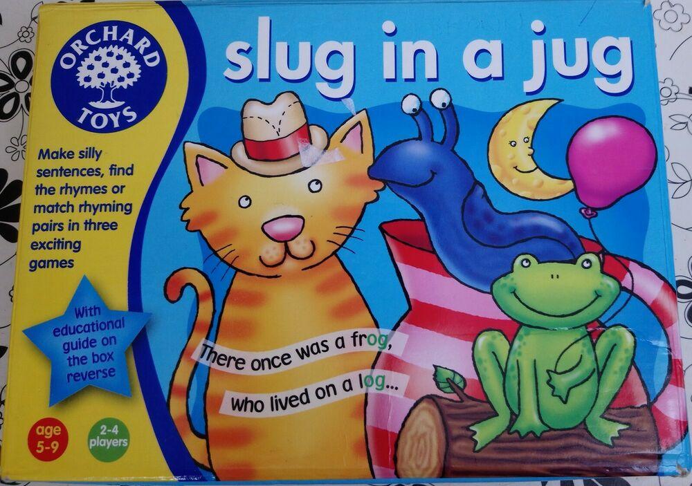 Orchard Toys Slug In A Jug Educational Game
