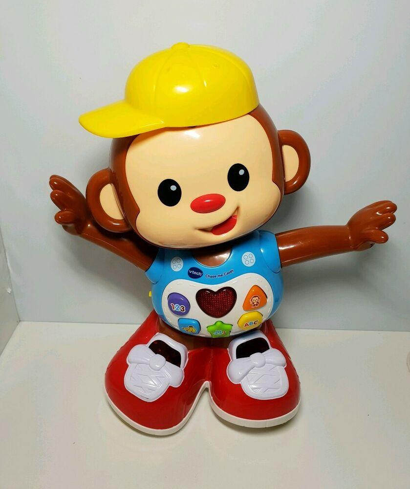 VTech Chase Me Casey Interactive Monkey Toy