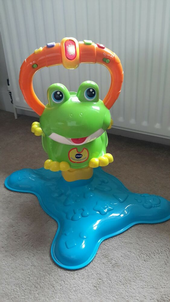 Vtech Bounce And Discover Frog - Excellent Condition